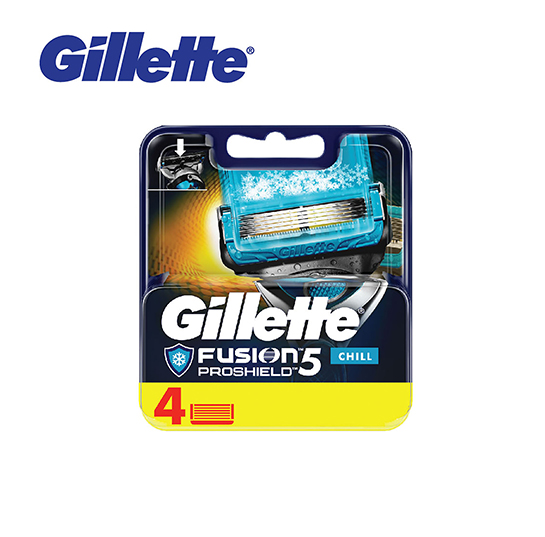 Gillette Fusion5 Proshield Chill Cartridges 4's