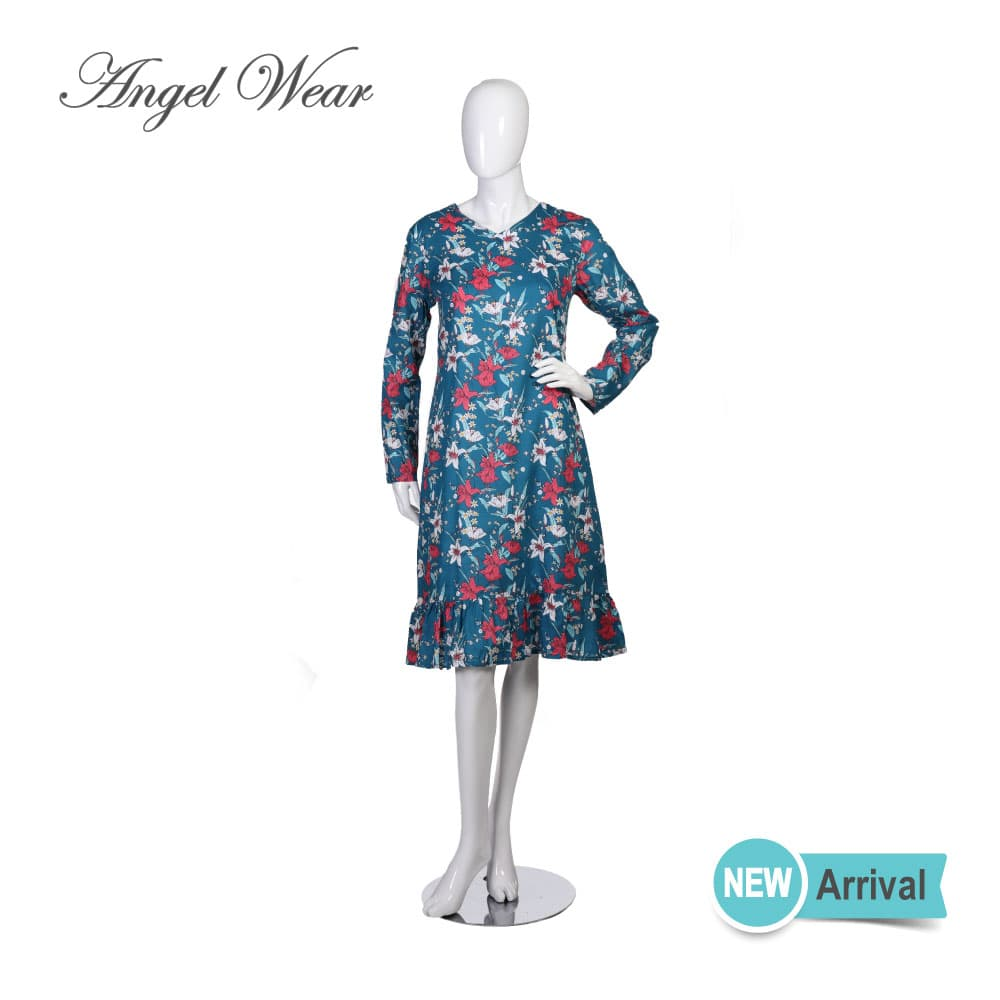 Long Sleeve Fashion dress, RE20-25-B