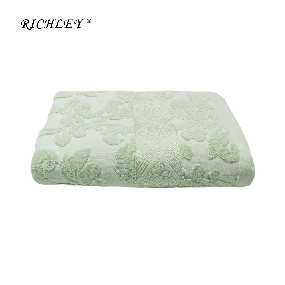 Jacquard Terry Bath Towel, 70 X 140