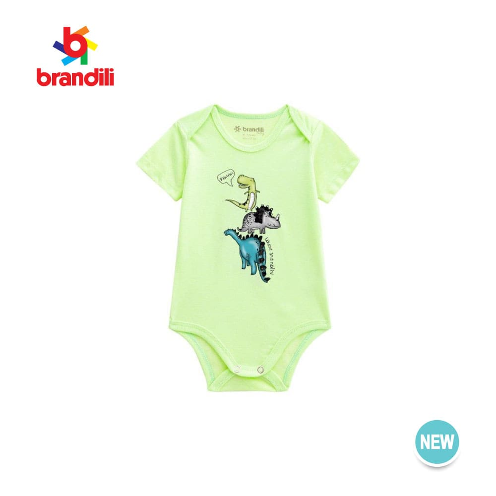 Bodysuit Short-sleeve Baby Clothing, BR41308