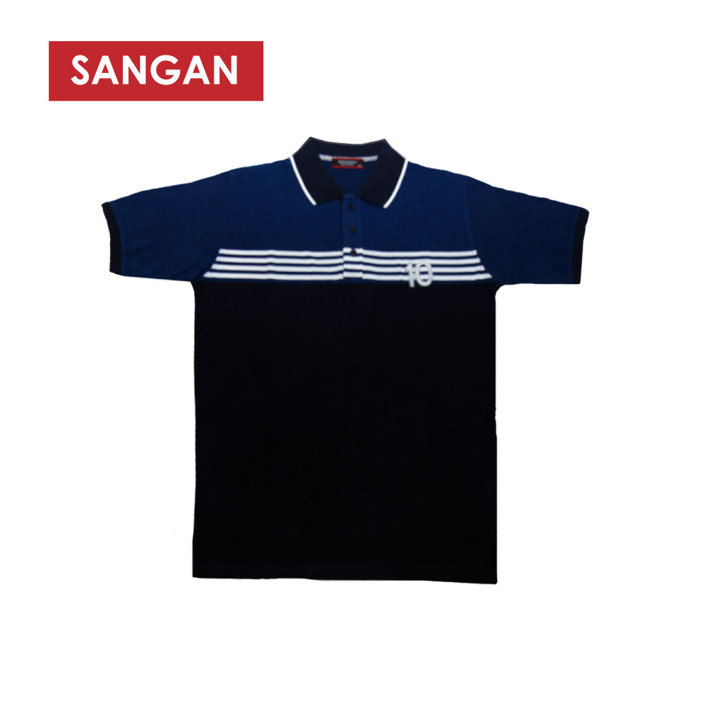Short Sleeves Polo T-Shirt Stripes PQ, JI840