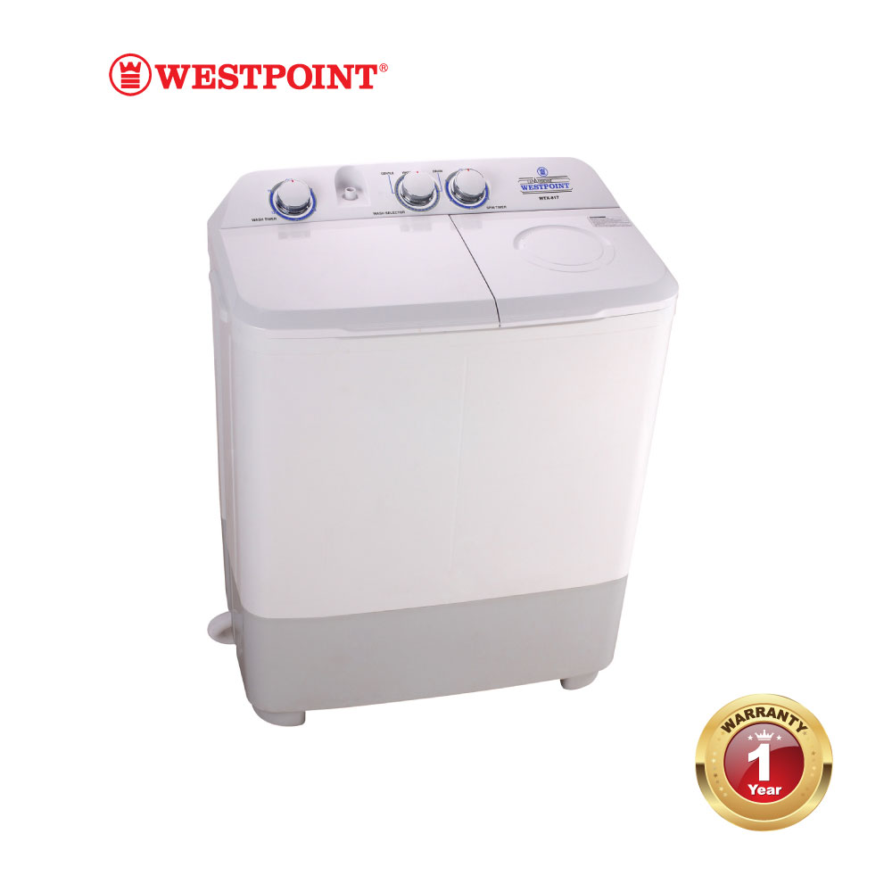 Twin Tub Washing Machine #WPWTX-717