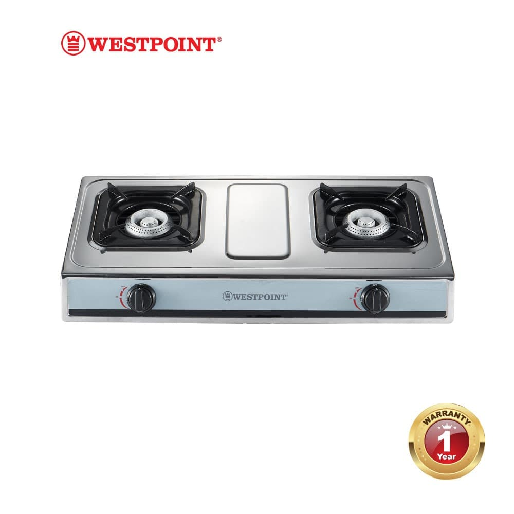 Table Top Gas 2 Burner #WPWTJ-2411-GICS