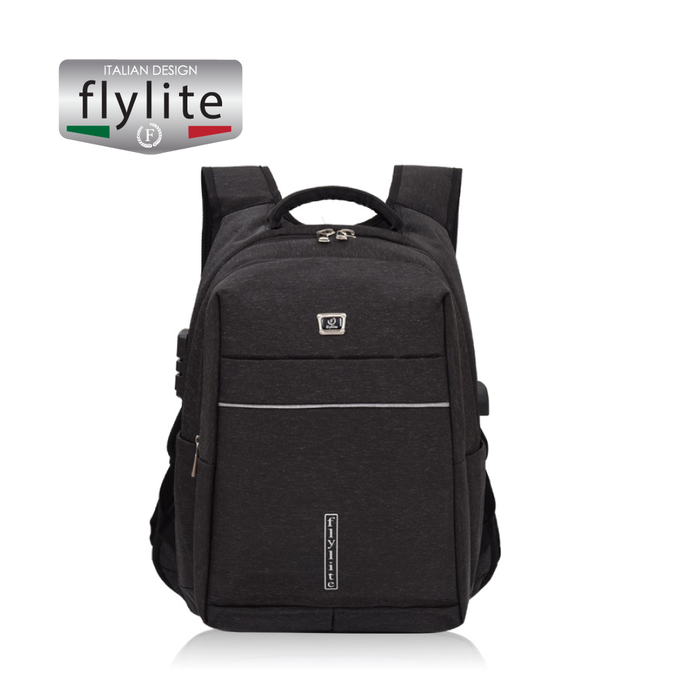 Backpack bag School and office use, Black, 20 inch,HAO639201