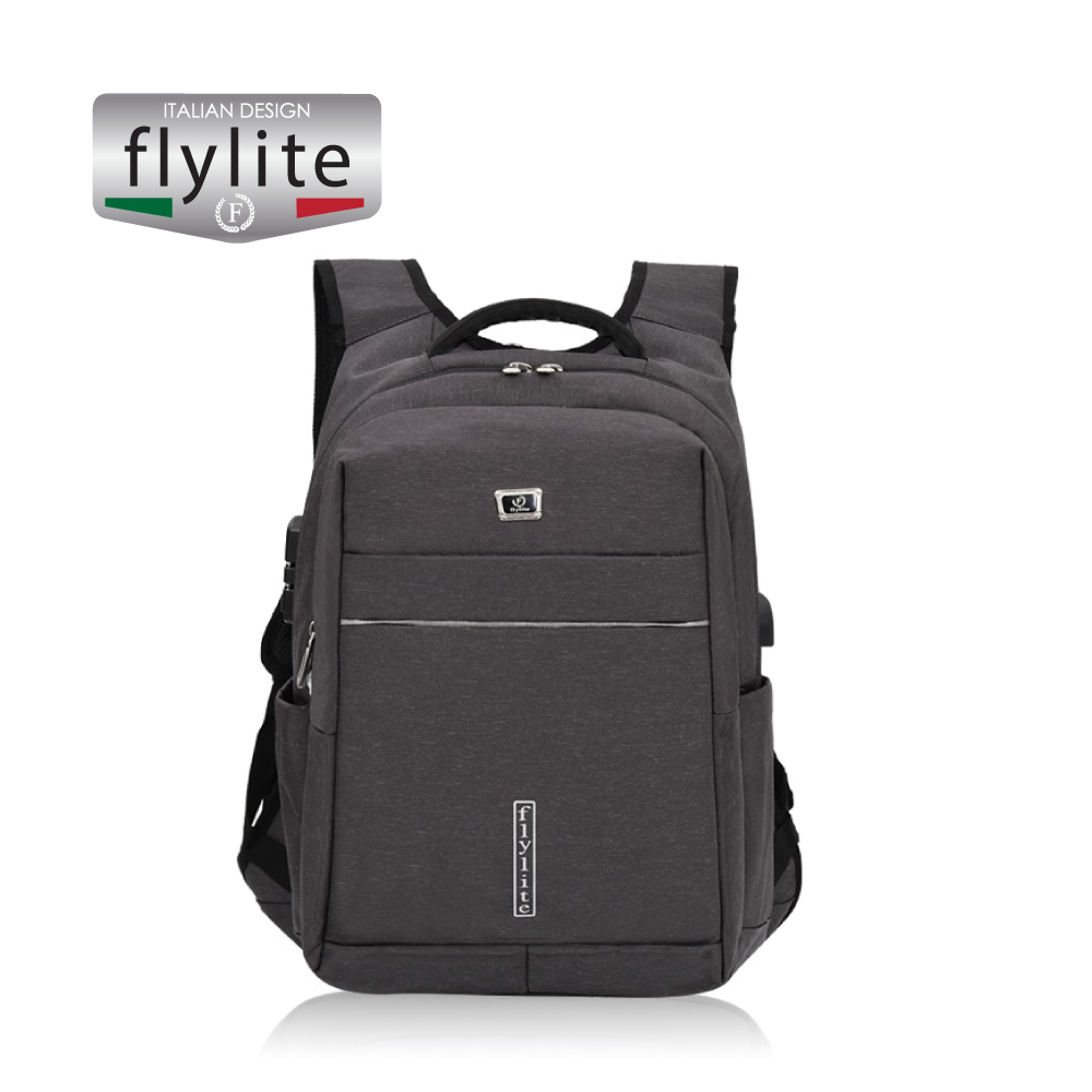 Backpack bag School and office use, Grey, 20 inch,HAO639255
