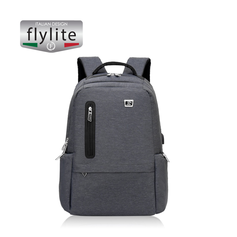 Backpack bag School and office use, Grey, 20 inch,HAO170925