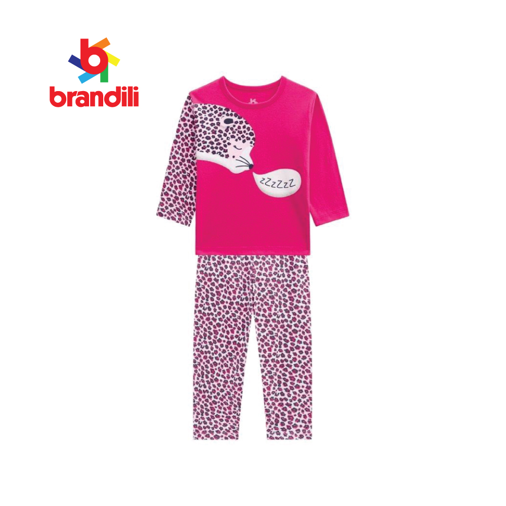 GLOW IN THE DARK GIRL PAJAMAS, BR53725