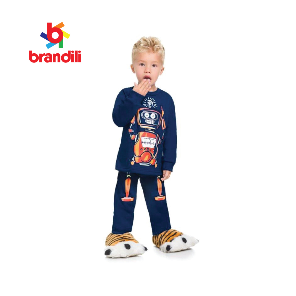 PAJAMAS GLOW IN THE DARK BOY BRANDILI,BR53740