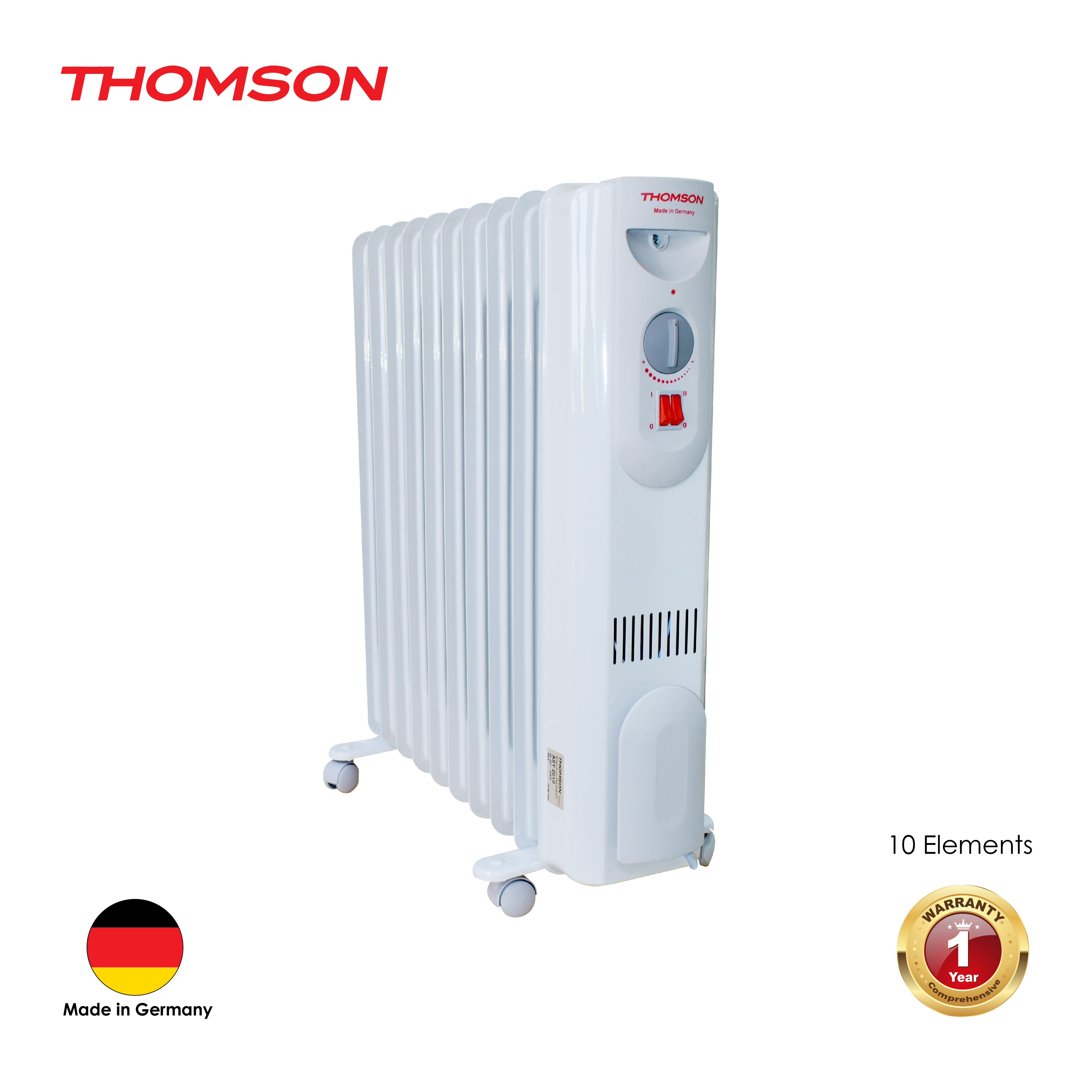 Oil Heater 10  Elements