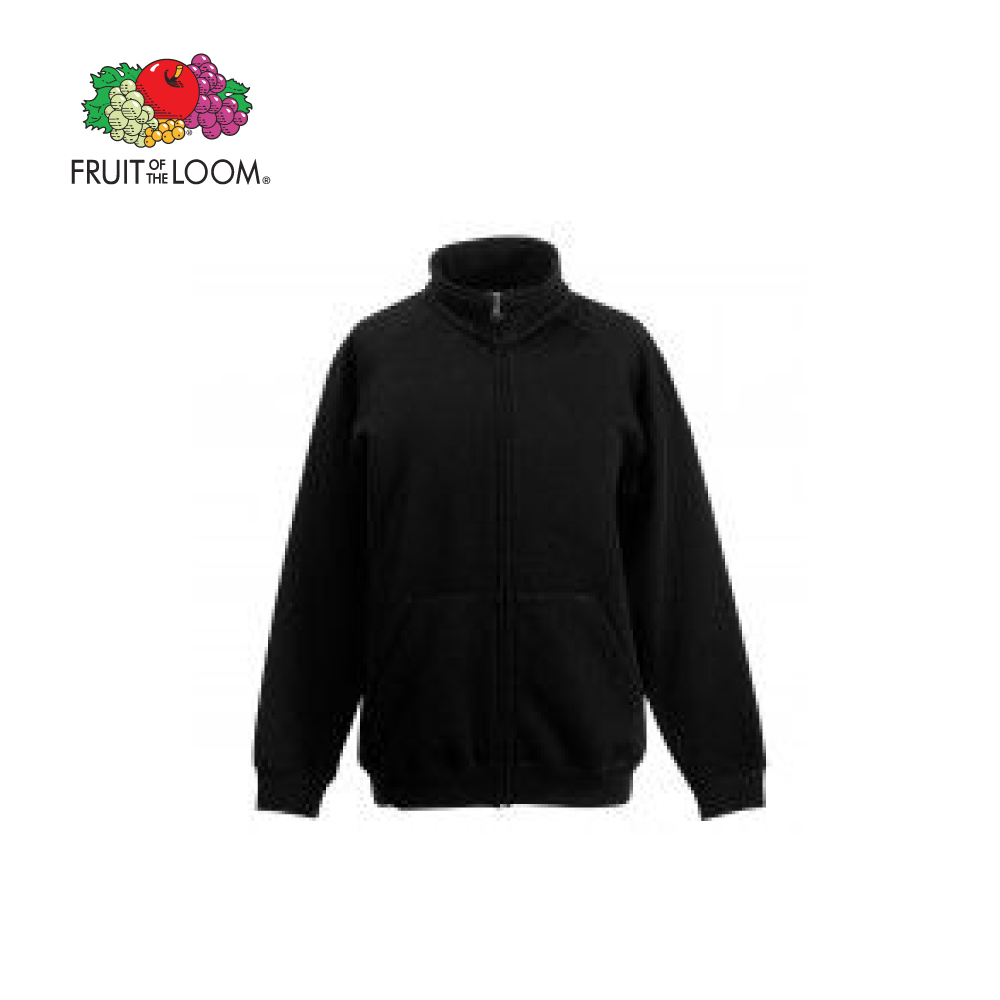 Fruit Of The Loom Kids Classic Sweat Jacket, FOL620050