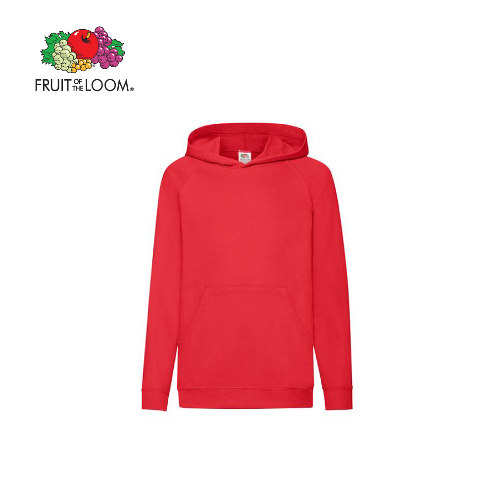 RUIT OF THE LOOM KIDS LIGHTWEIGHT HOODIE, FOL620090