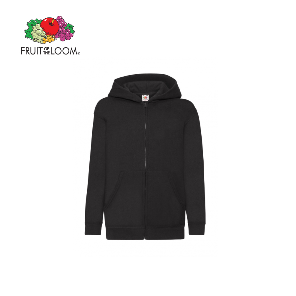 Kids Classic Hood Sweat Jacket, FOL620450