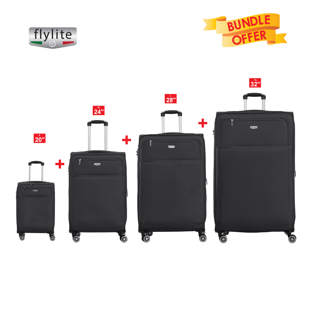 FLYLITE 4W TRL (SET4 PCS)BLACK 32