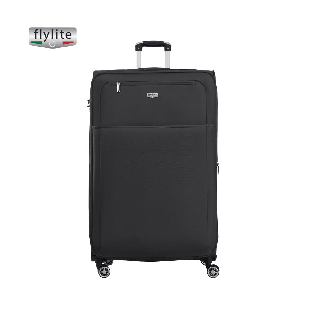 4 Twin Wheel Soft Trolley, Black, Xlarge  32 Inch,CON17021151