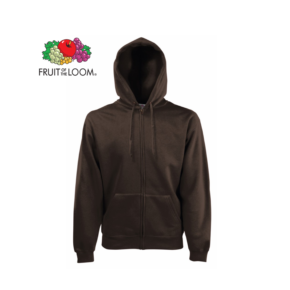 Premium Zip Thru Hooded Sweat, FOL062034