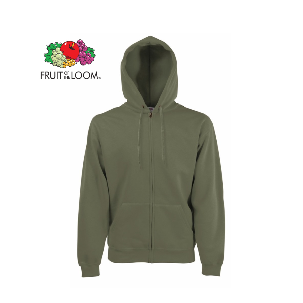 Classic Hooded Sweat Jacket, FOL062062
