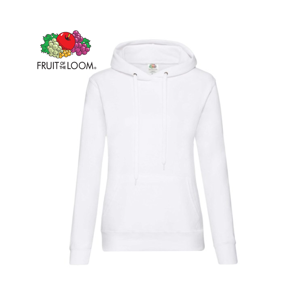 Ladies Classic Hooded Sweat, FOL0620380