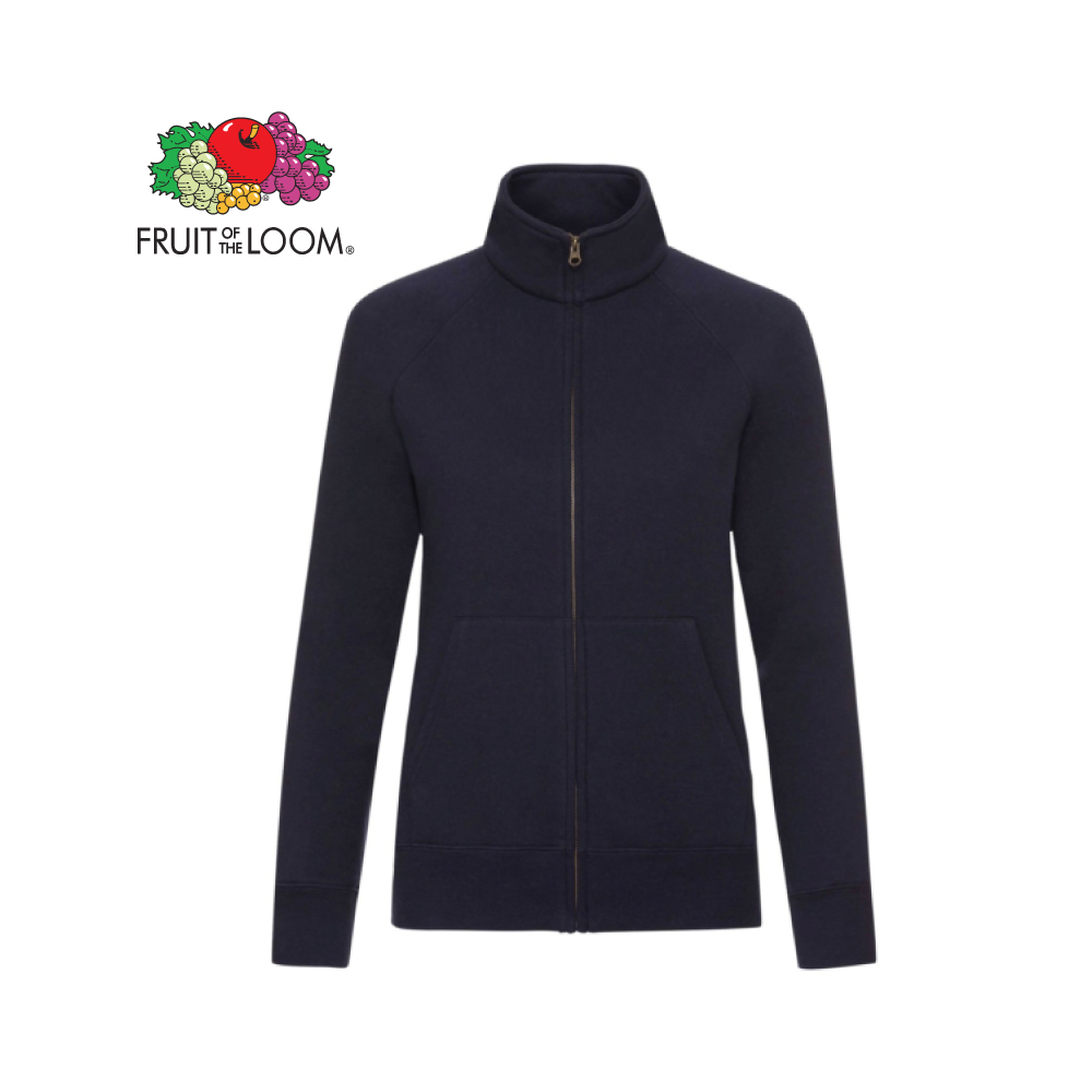 Ladies Premium Sweat Jacket, FOL0621160