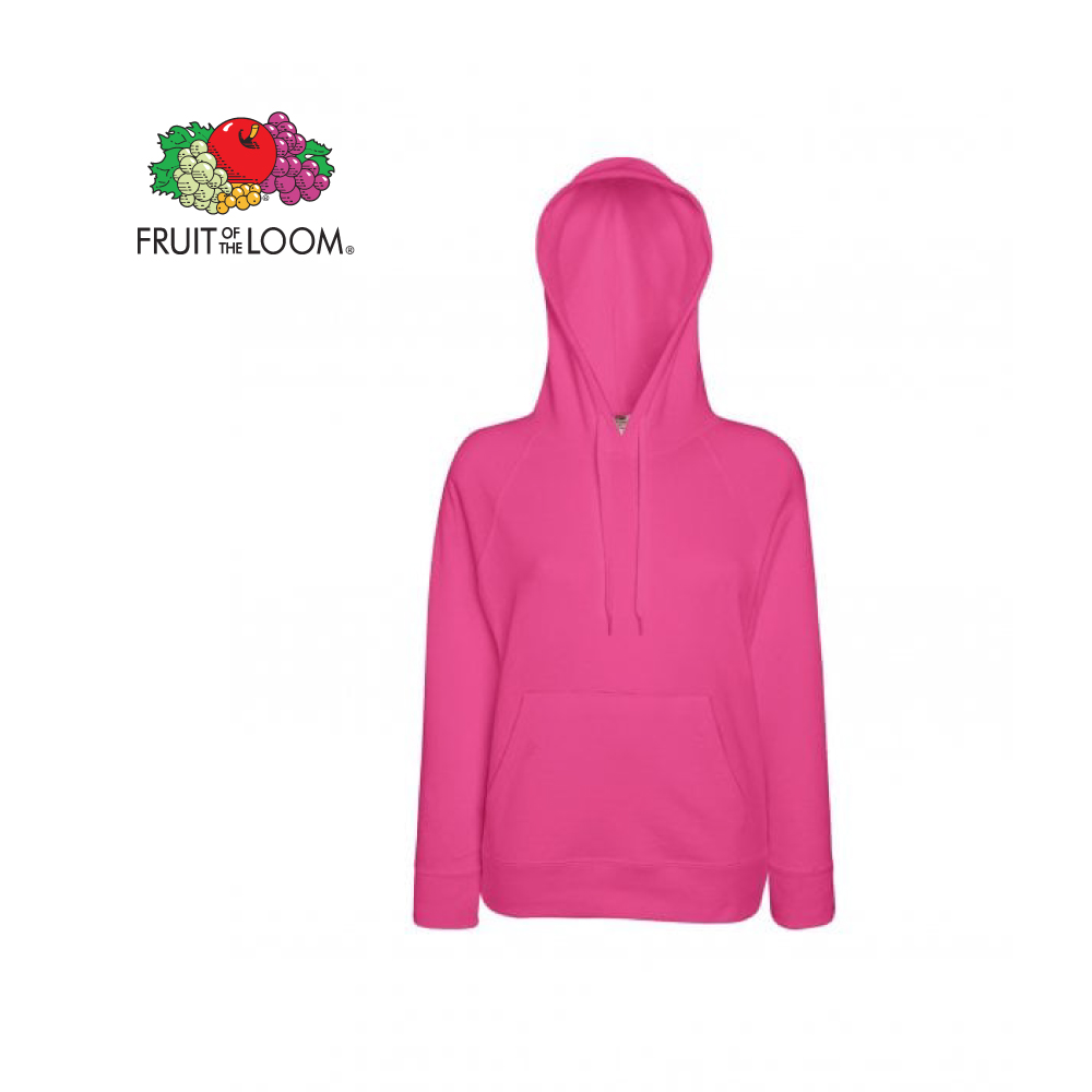 Ladies Light weight Hooded Sweat, FOL0621480